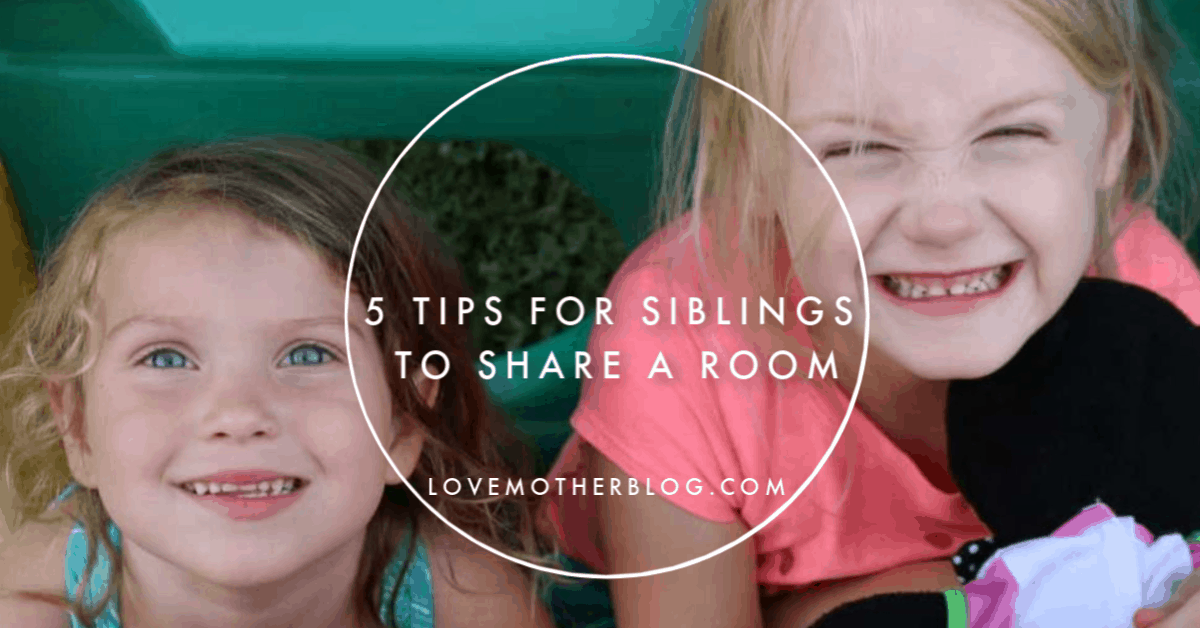 5 Tips for Siblings to Share a Room