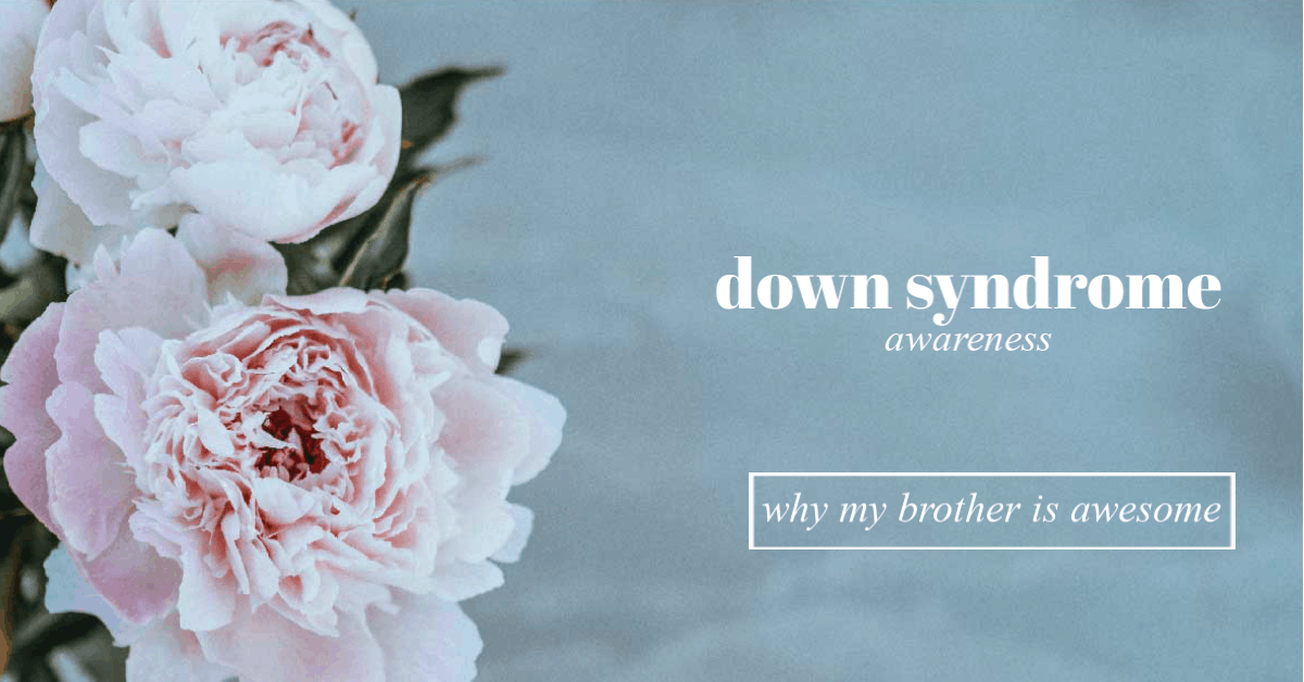 Growing up with a Sibling with Down Syndrome