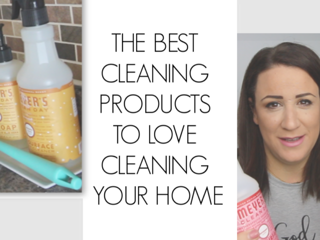 the best cleaning products