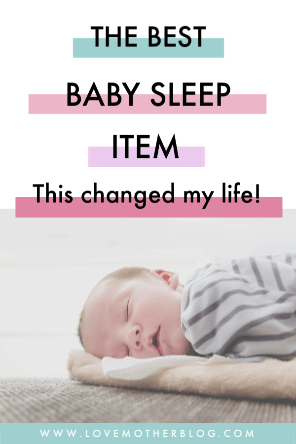 baby sleep item