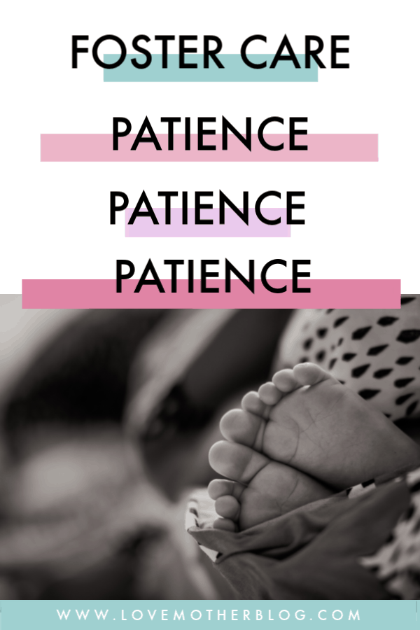 patience in foster care