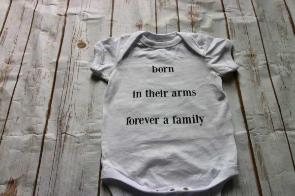 custom adoption shirt
