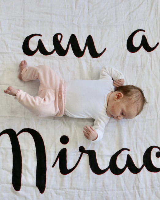 i am a miracle baby clothes