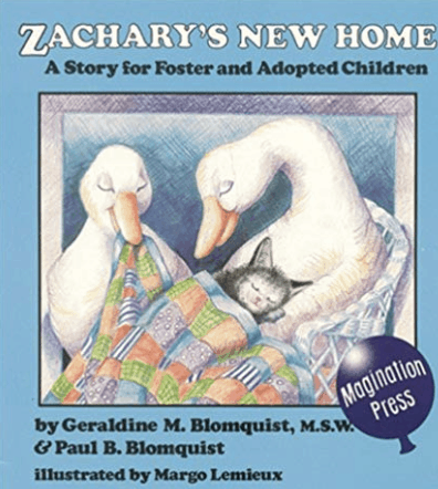 zacharys new home adoption book