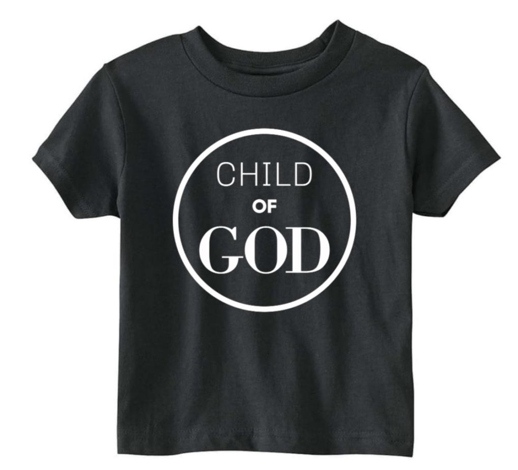 black child of God tshirt