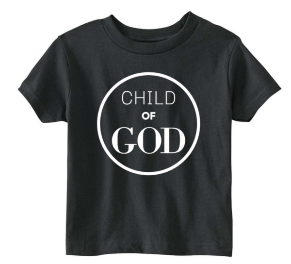 black child of God tshirt
