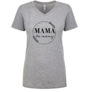 """Mama to Many"" T-shirt"