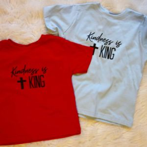 Kindness is King Toddler Tee