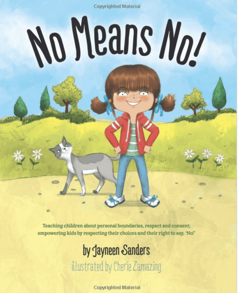 no means no childrens book