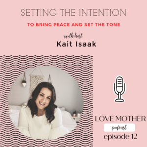 Setting the Intention for Your Home