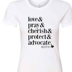 """Love &"" Womens T-shirt"